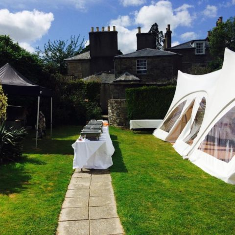 marquee food hire wedding